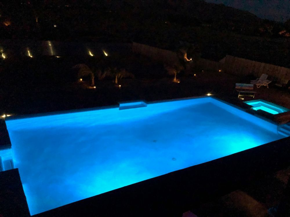 Pool With Lights